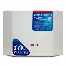 Стабилизатор напряжения NORMA 7500 Укртехнология
