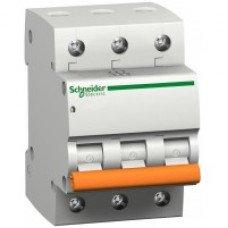 Автоматический выключатель  ВА63 3п 32A C Schneider Electric