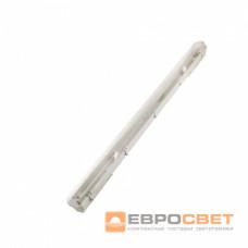 Светильник промышленный ЕВРОСВЕТ 1*1200мм под лампу Т8 LED-SH-20 IP65 Slim