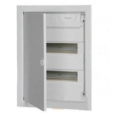 Корпуса модульные пластиковые с металлической дверцей КМПв, IP30